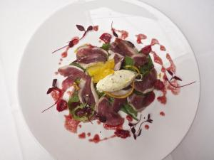 thumbnail_Duck breast and horseradish